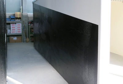 Abdichtung an der Seitenwand
