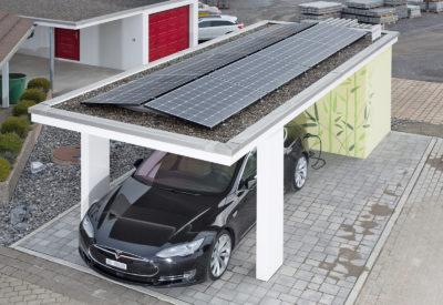 FRISBA® Installation solaire / station-service électrique
