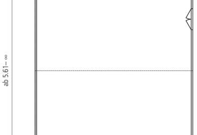 Dimensionen für Doppelgaragen mit Grosstor fr