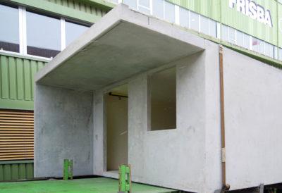 Wandaussparungen für Türen und Fenster