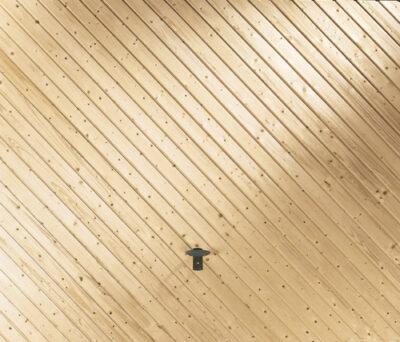 Garagen-Kipptor aus Massivholz