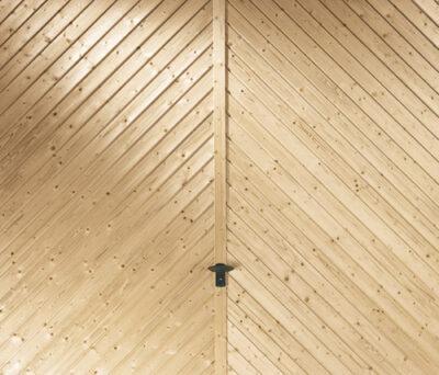 Garagen-Kipptor aus Massivholz Kempten