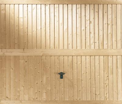 Garagen-Kipptor aus Massivholz Nuernberg